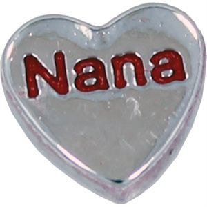 Picture of 'Nana' Heart Charm